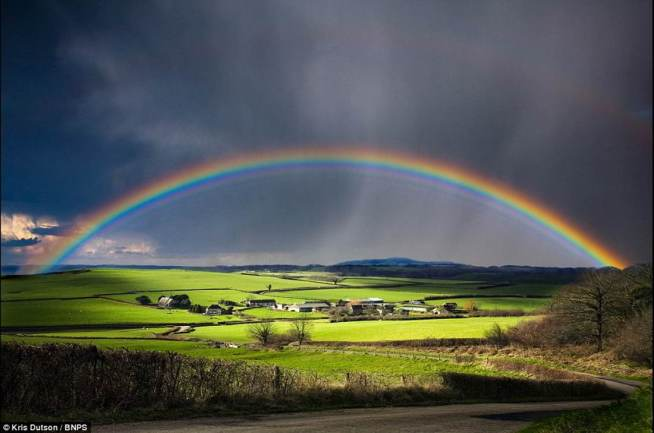 Beautiful Perfect Rainbow | Photo Credit: plus.google.com