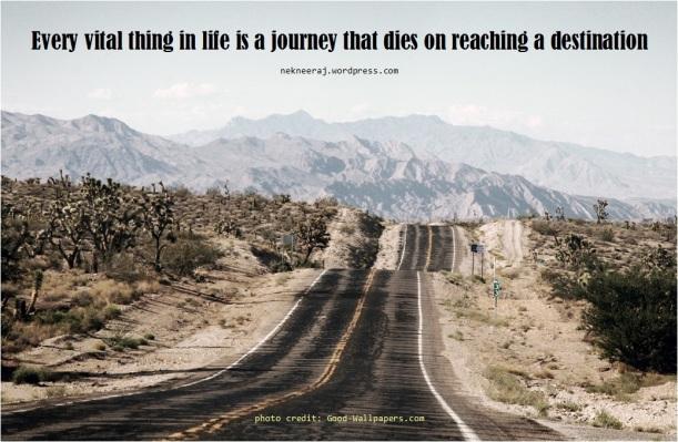 Journey quote nekneeraj