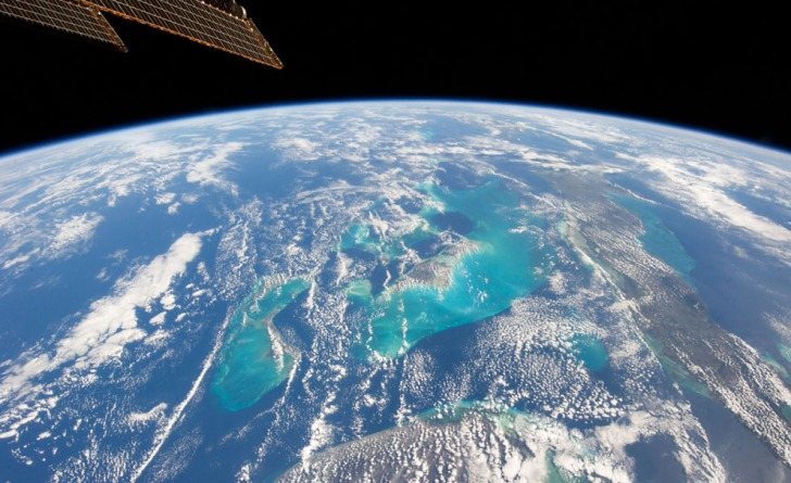 A view from International Space Station
