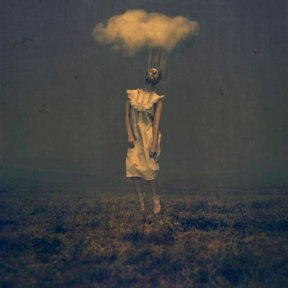 pulled by clouds- Brooke Shaden